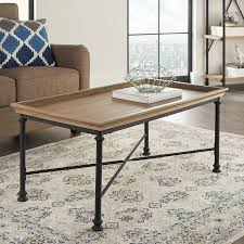 better homes and gardens coffee table better homes and gardens river crest coffee table rustic oak finish