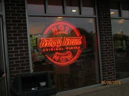 krispy kreme light hours when the red light is on it s the best time to go watch them make