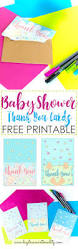 Free Printable Baby Shower Baby Shower Thank You Cards Free Printable Daydream Into Reality