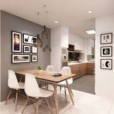 Dining Room With Kitchen Designs The Best Dining Room Decorating Ideas For Apartment Small Design