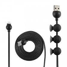 bm mizoo 150cm octopus design micro usb data cable for android