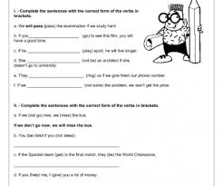 176 free first conditional worksheets