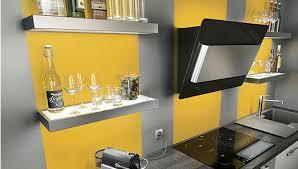 deco cuisine grise et decoration cuisine gris et jaune