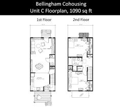 cohousing floor plans 28b bellingham cohousing