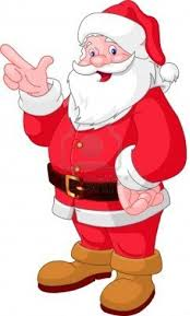 free clipart christmas santa collection