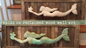 wooden mermaid wall attractive ideas wooden mermaid wall decor carved make wood