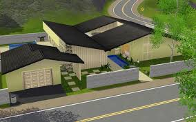 Garage Houses Summer U0027s Little Sims 3 Garden Sunset Valley The Sims 3 Base Game