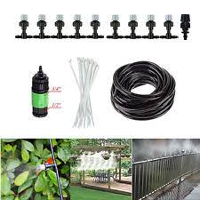 Patio Misting Kits Trampoline Water Sprinkler Misting System Ebay