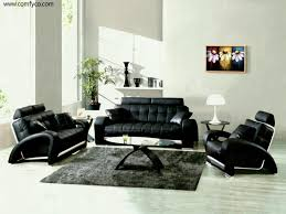 Leather Sofa Store Living Room Archaicfair Black Leather Sofa Set Designs For
