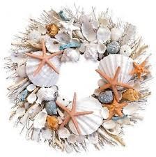 seashell wreath lumiere botanical potpourri seashell wreath