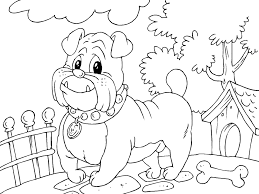 coloring pages bulldog coloring page mycoloring free printable