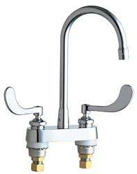 Commercial Grade Kitchen Faucet Chicago Faucets 772 Gn8ae3abcpchicago Faucets 2 Handle Kitchen