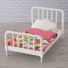 jenny lind doll bed with rainbow doll bedding set the land of nod
