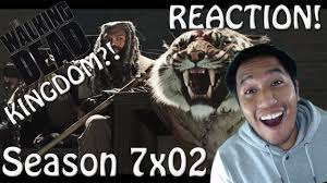 Shiva Meme - the walking dead season 7x02 king ezekiel and shiva reaction w