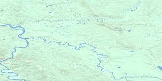 Yukon River Map Big Salmon Yk Free Topo Map Online 105e15 At 1 50 000