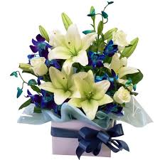 white and blue floral arrangements regal flower your sydney florist designing the white and blue