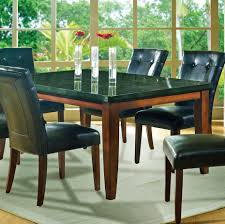steve silver granite bello 7 piece dining room set beyond stores