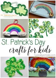 25 st patrick u0027s day crafts for kids typically simple