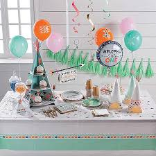 sports theme baby shower baby shower supplies trading