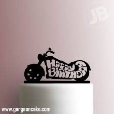 Birthday Cake Toppers Motorcycle Birthday Cake Toppers
