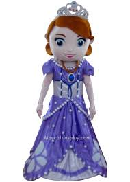 sofia sophia princess mascot costume fancy dress