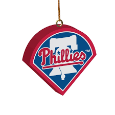 philadelphia phillies 3d logo ornament