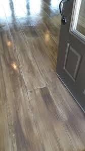 Hardwood Floor On Concrete Concrete Hardwood Stain And St
