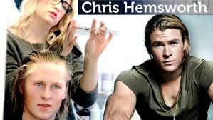 chris hemsworth hairstyle tutorial men u0027s long hair slikhaar tv