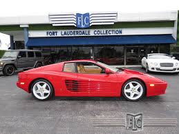 ferrari coupe 1992 used ferrari 512tr 1992 ferrari testarossa 512 tr at fort
