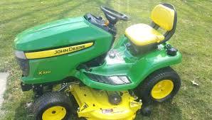 48in john deere x320 heavy duty lawn tractor hydro kawasaki motor