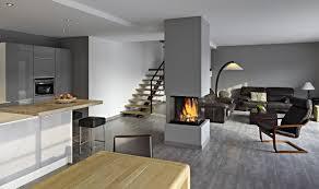 interieur maison bois contemporaine plan maison interieur moderne u2013 maison moderne