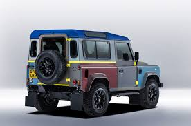 british land rover defender british countryside u0026 military inspires one off land rover