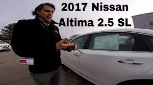 nissan altima 2016 packages 2017 nissan altima 2 5 sl technology package in depth walk around