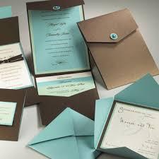 custom designed wedding invitations custom wedding invitations blue papers design simple and