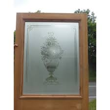 Etched Glass Exterior Doors Gorgeous Exterior Glass Doors On Doors Ext 108 Original Etched