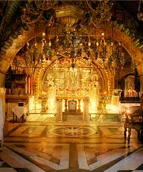 catholic tours of the holy land believed to be the site of the cross of jesus church of the holy