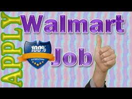 walmart job application online video review youtube