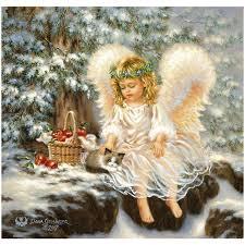 christmas angel free shipping christmas angel diamond embroidery diy needlework
