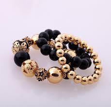 fashion elastic bracelet images Fashion accessories women 39 s beaded elastic bracelet factory jpg