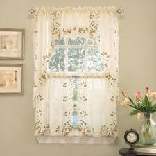 Sheer Embroidered Curtains Embroidered Floral Sheer Curtains