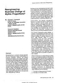 Business Process Reengineering Job Description Term Paper On Business Process Reengineering