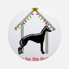 greyhound ornament cafepress