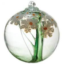 blown glass blossom balls