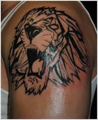 30 best lion tribal sleeve tattoo designs images on pinterest