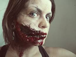 evil halloween makeup