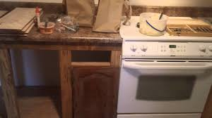 home made kitchen cabinets remodeling a double wide youtube