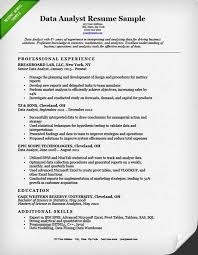 Quality Analyst Resume Data Quality Analyst Cover Letter