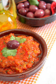 comment cuisiner aubergines zaalouk d aubergines recette marocaine facile recettes faciles