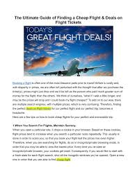 the ultimate guide on how to find cheap flights dang ppt affordable flight tickets powerpoint presentation id 7613250