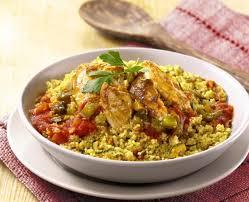 cuisiner des escalopes de poulet escalopes de poulets et couscous du soleil accompagnées d une